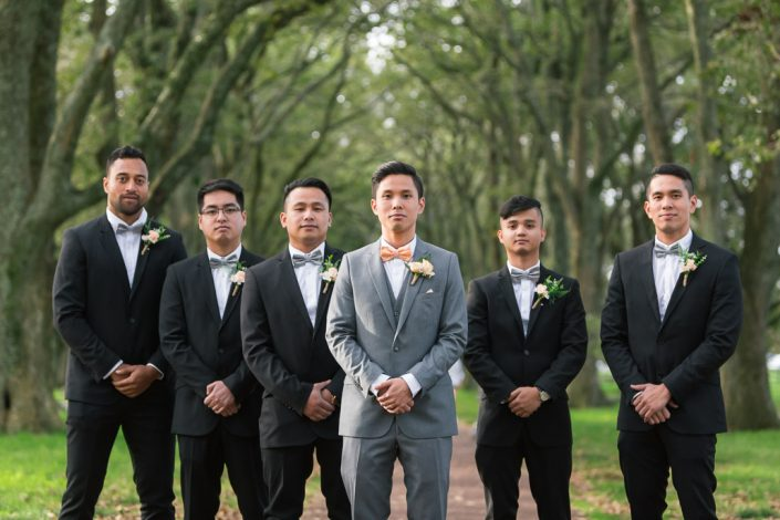 groomsman at the one three hill