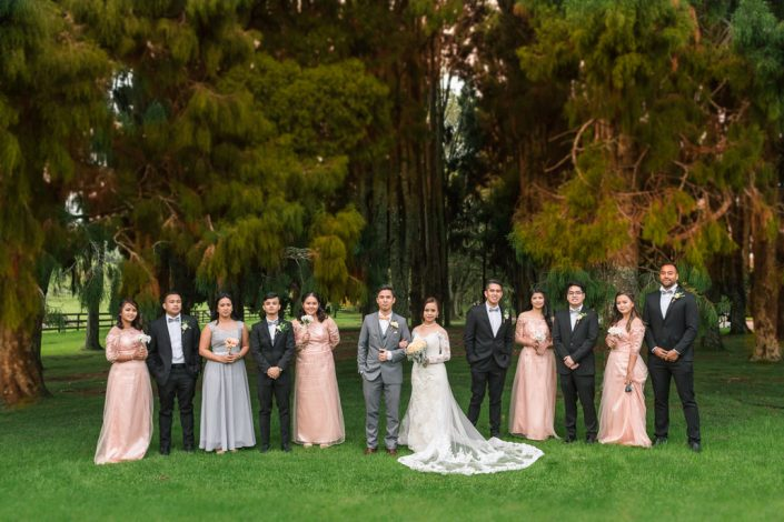 bridal-party the one three hill