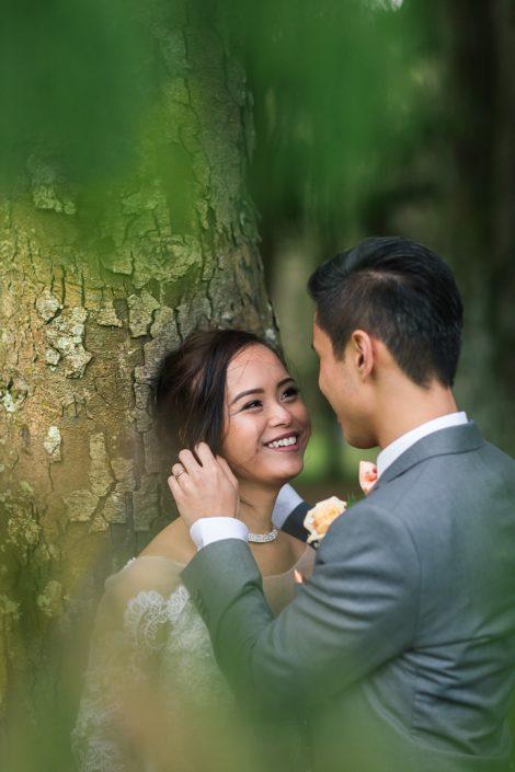 brides laugh